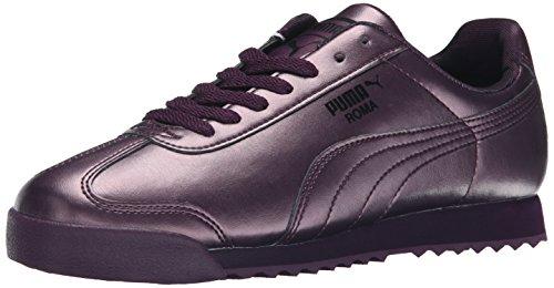 PUMA Frauen Roma Metallic Sneaker Pflaume / italienische Pflaume