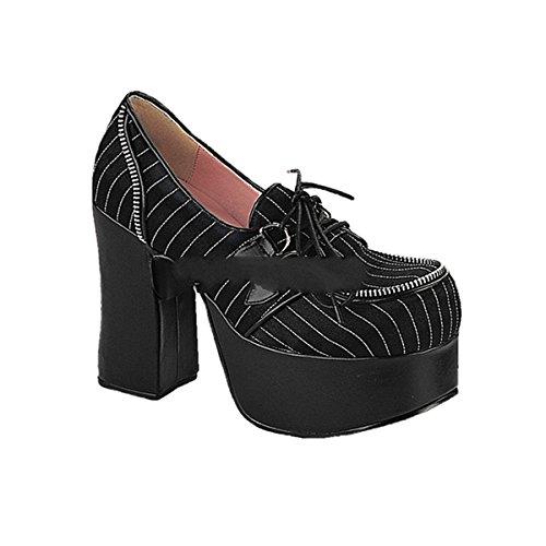 gothic industrial 12 Demonia 3 5 punk shoes Charade punk industrial 9 platform rH5HxEwYq