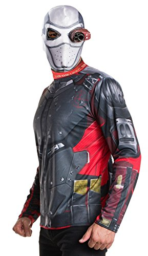 Rubie's Costume Co. Men's Suicide Squad Deadshot Costume Kit, As Shown, TEEN