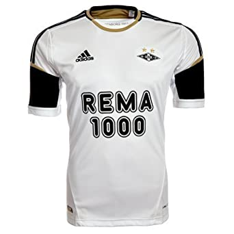 Adidas - Camiseta de fútbol de Rosenborg Ballkub 2013 blanco blanco Talla:Adult XL