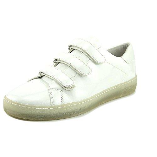 MICHAEL Michael Kors Women's Craig Sneaker Optic White Patent/Nappa Sneaker  9 M
