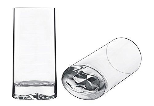 Collection Beverage Luigis (Luigi Bormioli 11266/01 Veronese OTR 14.5 oz Beverage Drinking Glass, Clear)