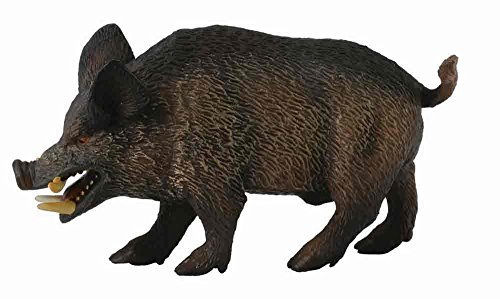 CollectA Woodlands Wild Boar Toy Figure - Authentic Hand Painted Model