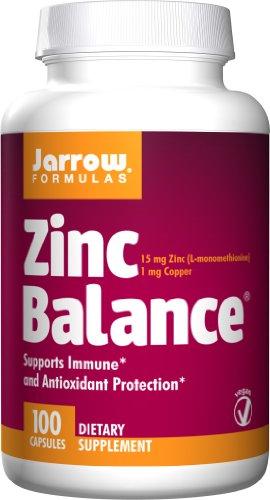 JARROW Zinc Bal 15 CAPS