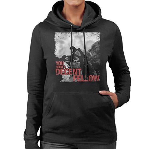 A Hooded Princess Bride Seem Women's Sweatshirt Black Fellow You Decent qFtF1