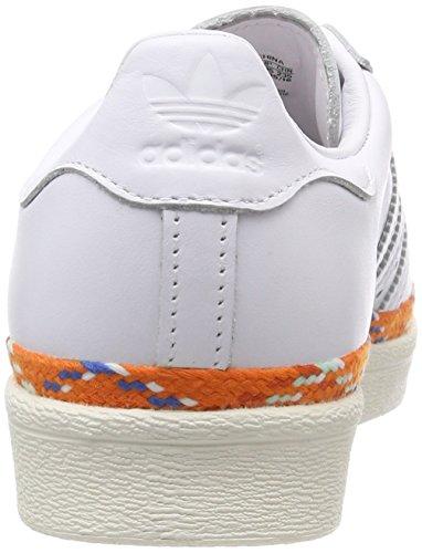 W Bold Gymnastique White 80s Blanc Superstar ftwr Chaussures Adidas White off ftwr Ftwr Femme New White White De qItn0