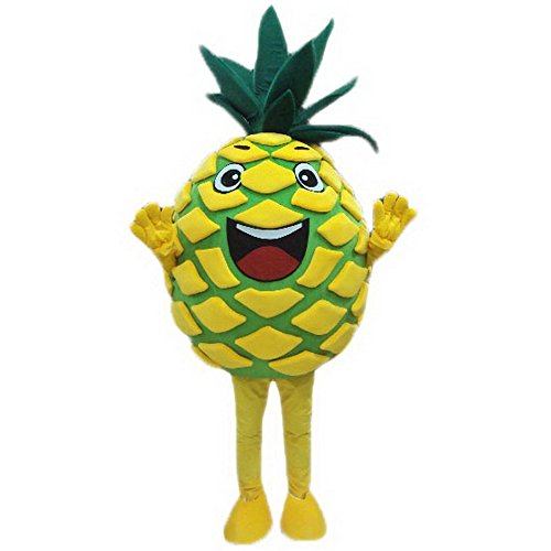 Fruit Pineapple Mascot Costume Unisex Adult Size Fancy Party Dress -  mascotcostume