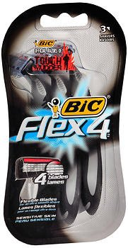 Marble Medical Bic Flex-4 Razors 3 Count (Pack of 5)