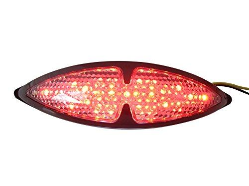Motorbike Motorcycle Custom Black Universal LED Rear Stop Tail Light