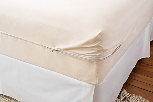 Magnolia Organics Barrier Cloth Mattress Cover - Twin, Natural (Mattress Barrier Cover Organic)
