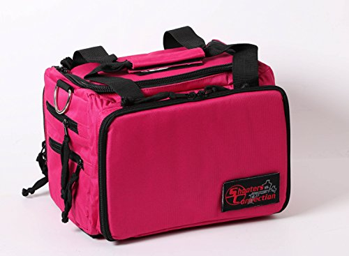 Shooters Connection Tournament Series Shooting Bag PRO Compact (Pink) (Shooters Pro Bag)
