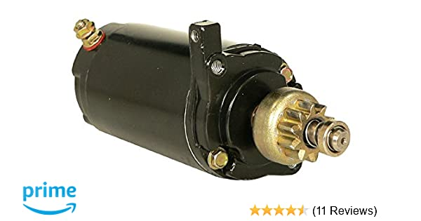 DB Electrical SAB0083 New Starter For Mercury Outboard Marine 35Hp 35 Hp  40Hp 40 Hp 50-41583 1980-1987,50-41583, 50-41583T, 5041583, 5041583T 5385,