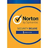 Electronics : Norton Security Deluxe 2016, 5 Devices 1 Year Anti-virus PC/Mac/Android/iOS, New
