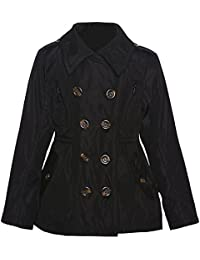 Girls Black Dress Coat