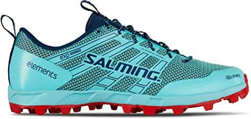 Salming Womens Elements 2 Off Trail Running Trainers Shoes - Blue