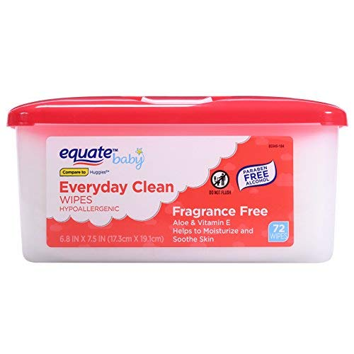Equate Everyday Clean Gentle Wipes