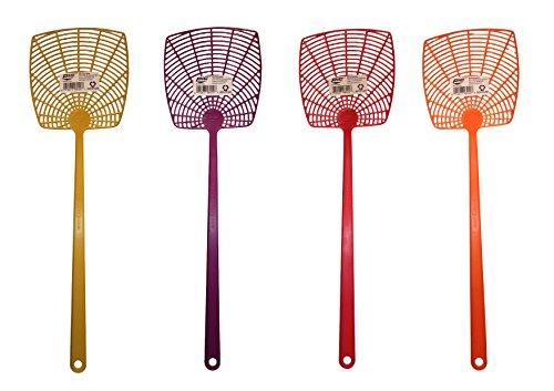 Plastic Fly Swatter, Neon, 1-swatter (Pics Neon)