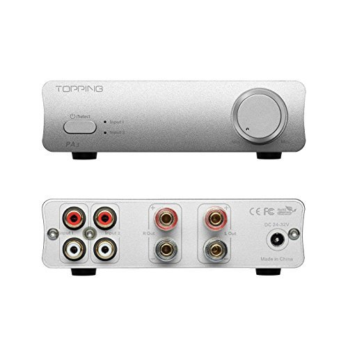 TOPPING PA3 Desktop HiFi Digital Amplifier (Silver)