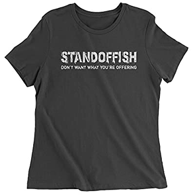 Expression Tees Standoffish Womens T-shirt