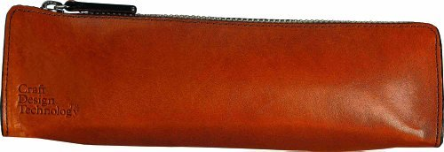 Craft Design Technology Leather Pen Case (Cinnamon) - Made in Japan by Takumi Japan