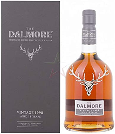 The Dalmore The Dalmore 18 Years Old Highland Single Malt Scotch Whisky VINTAGE 1998 44% Vol. 0,7l in Giftbox - 700 ml