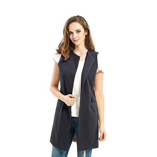 Biovan Womens Sleeveless Longline Waistcoat