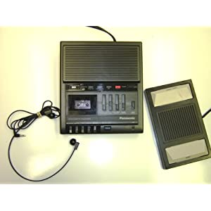 Panasonic RR-930 MicroCassette Transcriber by Panasonic