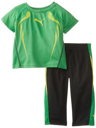 PUMA   Kids Baby Boys' Acceleration Perfect Set, Fern Green, 18 Months