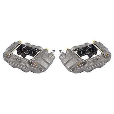 CCK11207 [2] FRONT Premium Grade OE Remanufactured Caliper Assembly Pair Set: Automotive
