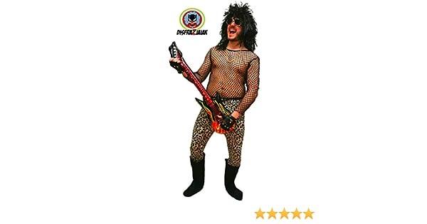 Disfraz de Rockero Isi - Hombre, L: Amazon.es: Ropa y accesorios