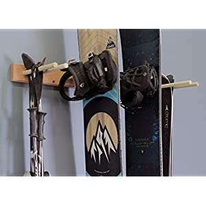 Snowboard Ski Wall Mounted Storage Rack