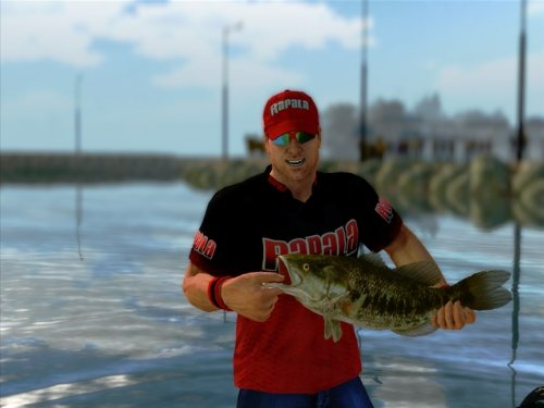 Rapala pro bass fishing 2010 sony psp for Bass pro fishing sale