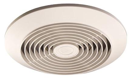 Broan 673 Vertical Discharge Utility Fan, 6 Inch 60 CFM 4.5 Sones, White