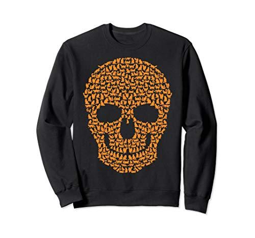 Cat Skull TShirt Maine Coon Skeleton Halloween Costume -