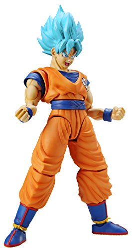 Bandai Hobby Dragon Ball Super: Super Saiyan God Super Saiyan Son Goku Figure-Rise Plastic Model Kit - Dragon Figure Model Kit