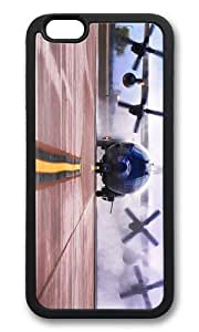 MEIMEIMOKSHOP Adorable ac 130w stinger ii American Special OPS Soft Case Protective Shell Cell Phone Cover For Apple Iphone 6 (4.7 Inch) - TPU BlackMEIMEI