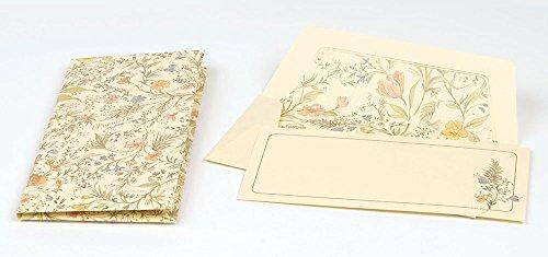 Kartos Primavera Long Cards & Envelopes Portfolio Luxury Italian Stationery