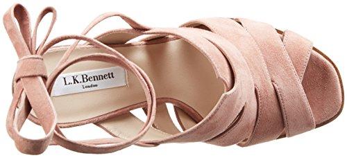 L.K. Bennett 0103 50251 0180, Sandalias de Tacón Mujer Rosa (Dark  Rosa)