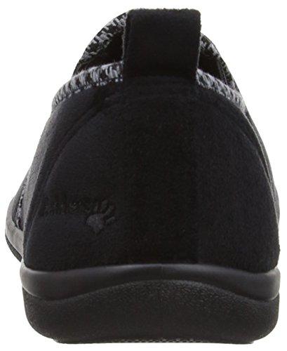 Padelle Lewis 470 Pantofole Nere Nere