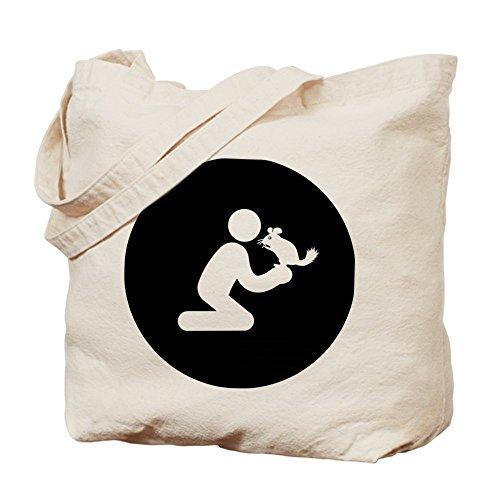 CafePress–Chinchilla–Leinwand Natur Tasche, Reinigungstuch Einkaufstasche