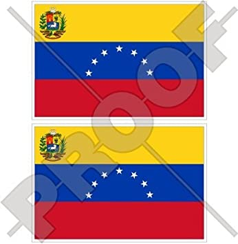 """Venezuela Bandera de estado EX (7 Star) venezolana. América del Sur 3 """""""