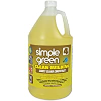 simple green SMP 11201 Clean Building Carpet Cleaner Concentrate, Unscented, 1 gal Bottle (Pack of 2)