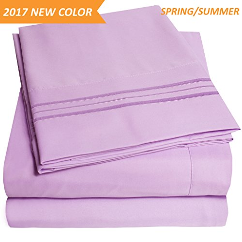 lilac full size comforter - 7