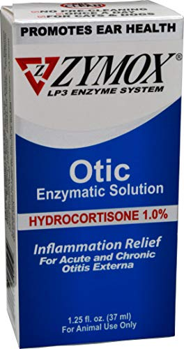 ZYMOX Ear Solution | The Only No Pre-Clean Once -a-Day