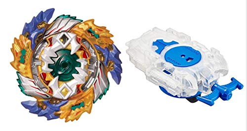 [B-122 Value Set] Beyblade Burst B-122 Starter Geist Fafnir .8'.Ab + B-99 Bay Launcher L Clear White [Japan Import] from Takara Tomy