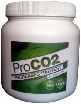 Mini Pro CO2 Bucket w// Handle for 2 x 2 Area Natural Releasing Carbon Dioxide Boost