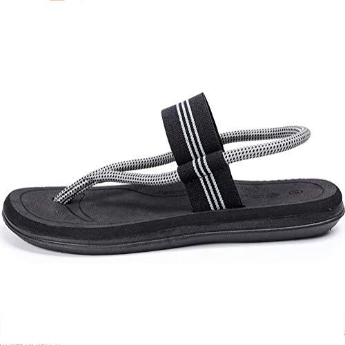 Été Plage Tongs Black Tige Antidérapantes Sandales Semelles Confortable Shangxian Maille Chaussons Respirant En Décontractée Extérieur lKJ3u1FcT