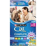 Best Cat Food Purina Cat Chow Complete 22 lb Wellness Feast Gourmet Dry nutrition Cats Food natural (22 lb)