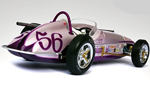 Race Car InspiredBy Ferrari 1 Sport f gp 1960s Indy 500 Concept 18 Vintage Sportscar 24 Hot Rod 12 Rare Collector Built Scale Diecast Midget Racer Model 25 250 Classic (1962 Ferrari 250 Gto)