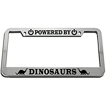 With God All Things are Possible Metal Auto License Plate Frame Car Tag Holder